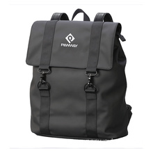 Fashion Shinny Black Backpack Men Waterproof Back Pack